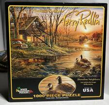 "Terry Redlin 'Sunday Morning' 1000 Piece Jigsaw Puzzle 26.75""x19.75"" Buffalo"