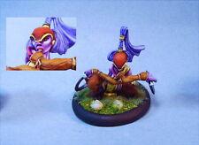 Dark Age Games painted miniature cute female Dragyri Whisper
