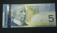Canada $5 GEM UNC Jenkins/Carney paper money Bank Notes Consecutive SNs bill