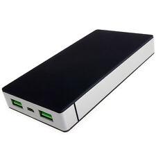 Power Bank 37000mWh Cargador Batería Externa USB 2.4A 1A Li-Poly PowerNeed