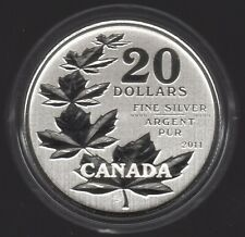 2011 Canada Maple Leaf Silver $20 Dollars | Pennies2Pounds