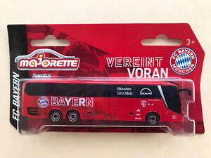 Mannschaftsbus MAN 21/22 FC Bayern München 28907 Majorette 1:100