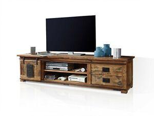 TV-Board Stauraumelement TV-Unterteil Fernsehschrank BRISTOL II Mango Massivholz