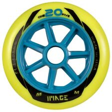 Matter Wheels one 20 five 125mm f1 inline skates roles 6 trozo