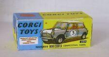 Repro Box Corgi Nr.227 Mini Cooper Competition Model