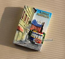 TOURIST SOUVENIR 3D Resin Travel Fridge Magnet ---- Lisbon , Portugal