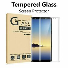 2-Pack Full Cover Tempered Glass Protector F Samsung Galaxy S8 S9 Plus Note 8 9