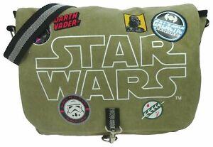 Star Wars Despatch Messenger Bag, 8l, Khaki - Bag Patches Canvas Courier