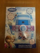 New listing Frozen Flashing Lights Karaoke Machine