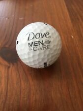 New listing Logo Dove Men + Care Soap Shampoo Golf Ball Bridgestone Used White One (1) Tour