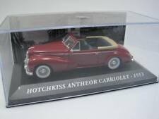 Autrefois Voitures Hotchkiss Antheor Cabriolet - 1953 - Ixo Altaya 1/43