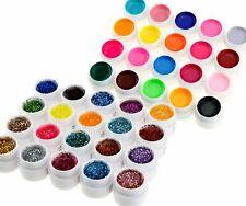 20 Pure +20 Glitter Gel UV Revêtements de couleur Nail Art Rebuilding Super