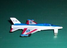 Vintage High Speed USAF F-16 Fighting Falcon No 614- 619 Diecast Jet Fighter Air