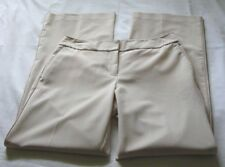 EXPRESS Creamy Beige CORRESPONDENT Casual Dress Pant Sz 8 (32.5 In)