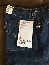 NEW women's Iconic LEVI'S ENGINEERED TWISTED Blue Bootcut Jeans W30 L32