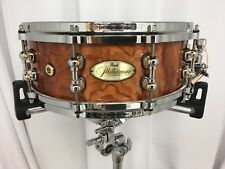 """Pearl PHILHARMONIC Limited Edition 14"""" X 5"""" Snare Drum/Bubinga Shell/Free Stand!"""