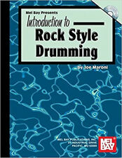 Introduction to Rock Style Drumming, New, Maroni, Joe Book