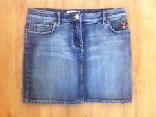 Ladies PORTMANS Blue Denim Skirt Size 9 Short Mini
