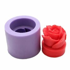 3D Rose Flower Silicone Candle Mould for Handmade Resin Clay Soap Mould DIY Tool