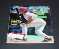 SPORTS ILLUSTRATED AUGUST 19 1985 PETE ROSE