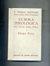 S. Thomae Aquinatis # SUMMA THEOLOGICA I # La Editorial Catolica 1955
