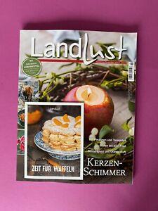 LandLust November/Dezember 2020 .. Kerzen-Schimmer .. ungelesen/Neuwertig