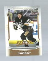 SIDNEY CROSBY MVP HOCKEY CARD