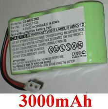Batterie 3000mAh type 7229 B11261 Pour Welch Allyn  12000 72240