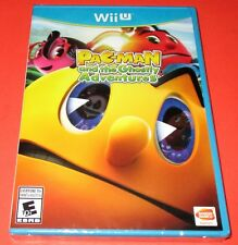Pac-Man and the Ghostly Adventures Nintendo Wii U *New! *Sealed! *Free Shipping!