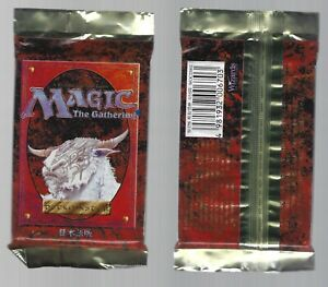 Magic the Gathering Fourth Edition Booster Pack X2 Factory Sealed Japanese