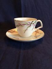 Kent (Japan) Spring Willow Demitasse Cup and Saucer PERFECT