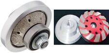 1 Diamond Radius Bullnose Shaping Bit 2 Grinding Cup Stone Concrete Counter Top