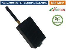 SENSORE ANTI JAMMER ANTI JAMMING ANTI OSCURAMENTO ANTIFURTO CASA ALLARME 868 MHz