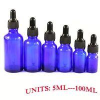 1pcs 5-100ml Amber Glass Liquid Reagent Pipette Bottle Eye Dropper Aromatherapy