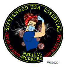 Essential Medical Worker Sisterhood Decal Sticker Rn-Dr-Xray-Admins- Ct