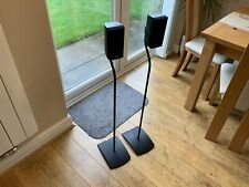 Pair Genuine Bose UFS20 Speaker Stands Acoustimass Lifestyle Cinemate Surround