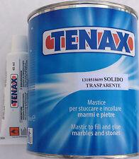 Tenax Marble Repair Kit - Stone Granite Glue and Filling  1 Ltr -  Colour Clear