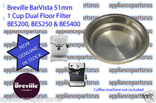 Breville Coffee Machine 1 Cup Filter BES200 BES250 - Part BES200/96.2 - IN STOCK