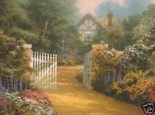 """Thomas Kinkade """"Hidden Cottage"""" Two (2) Postcards *New*"""