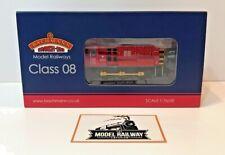 BACHMANN 00 GAUGE - 32-119 - CLASS 08 DIESEL SHUNTER 08907 DB SCHENKER RED