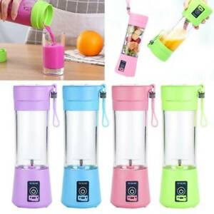 Portable USB Fruit Juicer Shaker BottleElectric Juicer Smoothie Maker Blender