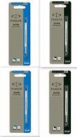 Parker Ballpoint pen Refills Ball pen Refill Quink Flow - Blue Black Medium Fine