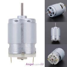 Mini Electric PCB Motor Drill Press Drilling Bits Chuck Tool Twist 12V 10500 RPM