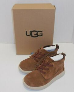 UGG Canoe Suede Chukka Boots Chestnut Boys 11 Toddler New Brown Shoes