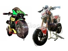 "Coppia Termocoperte CAPIT MINI Moto Pit-Bike 10"" 90/90-10 Racing Pista Italia"