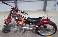 Schwinn Stingray Orange County Chopper Bike Red/Chrome 1st Edition *NEW