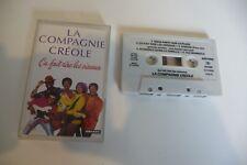 LA COMPAGNIE CREOLE K7 AUDIO TAPE CASSETTE CA FAIT RIRE LES OISEAUX.