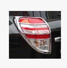 FITFor Toyota RAV4 2006 - 2012 2pcs Rear Tail Light Lamp Cover Trim ABS Chrome