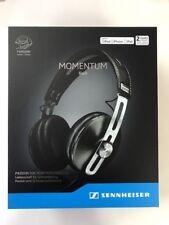 Sennheiser Momentum M2 AEi Black Around Ear Headphones (M2) Apple NEW