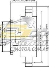 DAYCO Fanclutch FOR Toyota 4 Runner Oct 1989 - Jun 1996 2.8L OHC Diesel LN130R